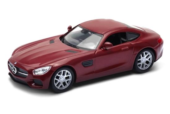 WELLY 1:34 Mercedes-Benz AMG GT - czerwony