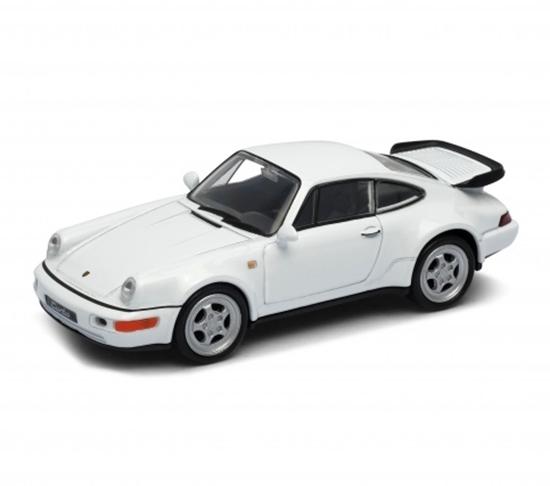 WELLY 1:34 Porsche 964 TURBO biały