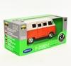 Welly 1:34 VW Volkswagen T1 bus 1963 - pomarańczowy