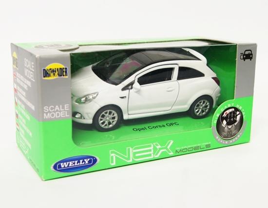 Welly 1:34 Opel Corsa OPC - biały