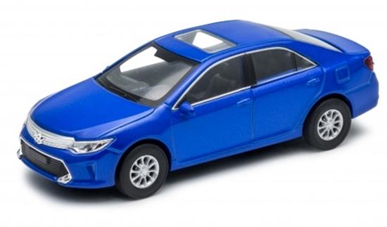 Welly 1:34 Toyota Camry- niebieski