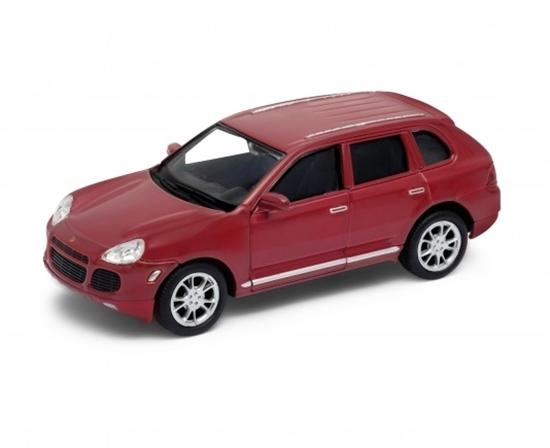 Welly 1:34 Porsche Cayenne Turbo -czerwony