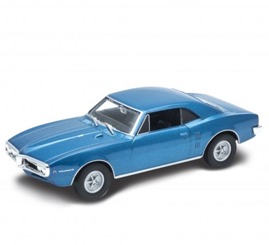 Welly 1:34 Pontiac Firebird 1967 - niebieski
