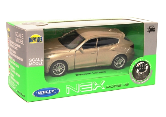 Welly 1:34 Maserati Levante - złoty