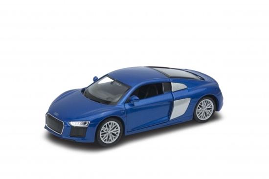 Welly 1:34 Audi R8 V10  -niebieski