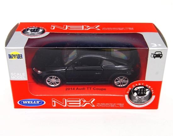 WELLY 1:34 Audi TT Coupe 2014 - czarny