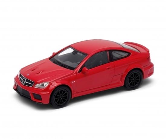 WELLY 1:34 Mercedes-Benz C63 AMG Coupe - czerwony