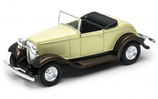 Welly 1:34 Ford Roadster cabrio - kremowy