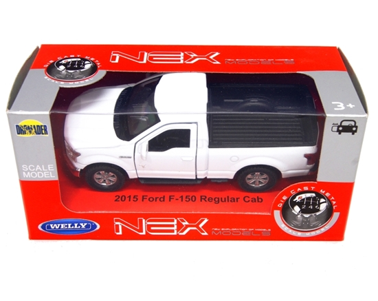 WELLY 1:34 Ford F-150 Regular Cab 2015 - biały