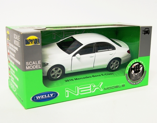Welly 1:34 Mercedes-Benz 2016 E-Classe -biały
