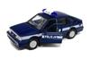 Welly 1:39 Polonez Caro POLICJA -granatowy z białym pasem