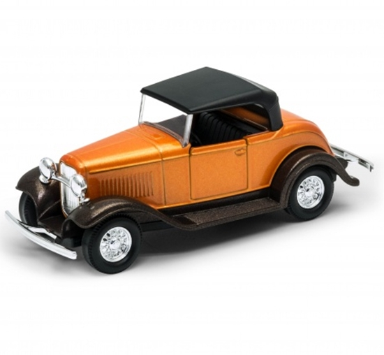 Welly 1:34 Ford Roadster soft-top - pomaranczowy