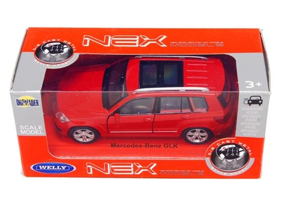 Welly 1:34 Mercedes-Benz GLK - czerwony