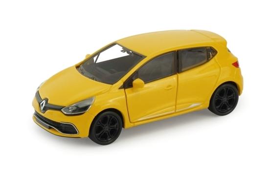 Welly 1:34 Renault Clio RS -żółty