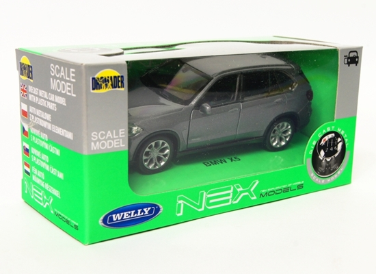 Welly 1:34 BMW X5 - grafitowy