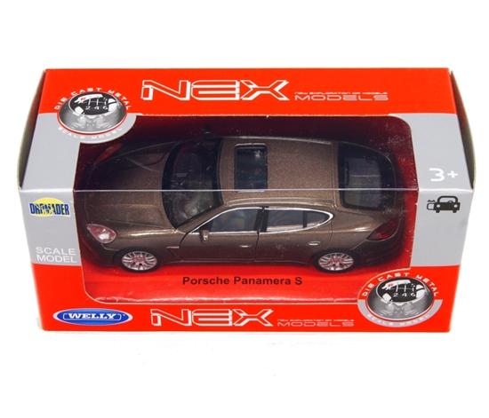 WELLY 1:34 Porsche Panamera S brązowy