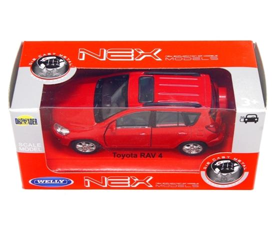 WELLY 1:34 Toyota RAV 4 czerwony