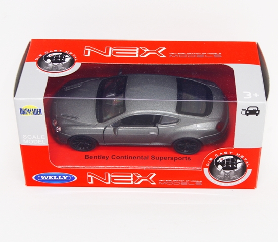 Welly 1:34 Bentley Continental Supersports - grafitowy