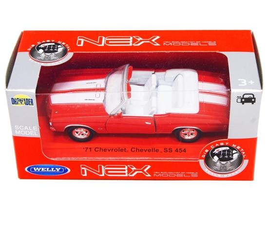 Welly 1:34 Chevrolet Chevelle '71 -czerwony