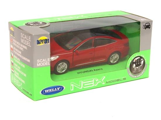 Welly 1:34 Hyundai Azera - czerwony
