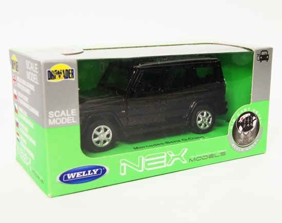 Welly 1:34 Mercedes-Benz G-Class - czarny