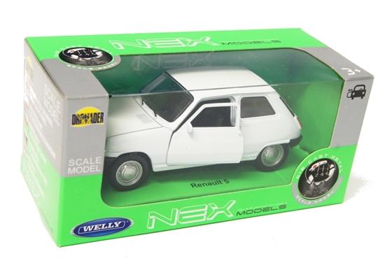 Welly 1:34 Renault 5 - biały