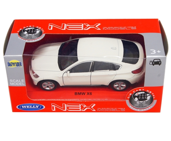 Welly 1:34 BMW X6 -kremowy