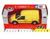 Welly 1:34 Ford Transit Connect -żółty