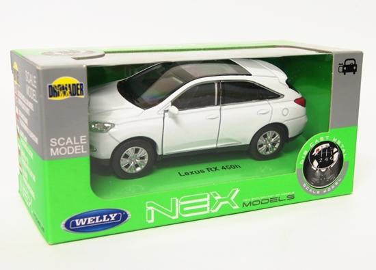 Welly 1:34 Lexus RX 450H - biały