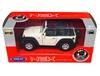 WELLY 1:34 Jeep Wrangler Rubicon cabrio - kremowy