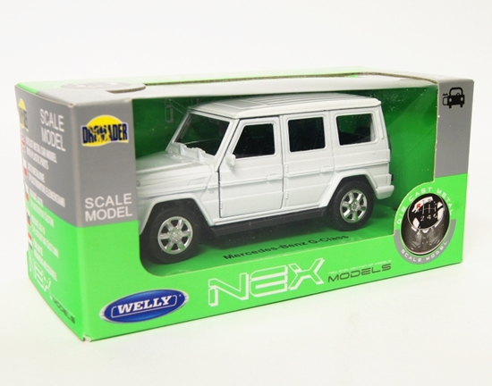 Welly 1:34 Mercedes-Benz G-Class - biały