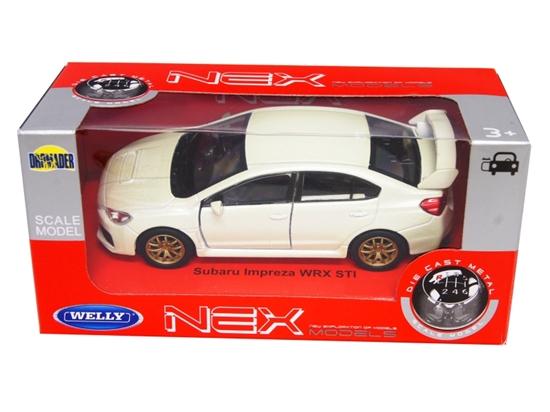 WELLY 1:34 Subaru Impreza WRX STI - kremowy metalik