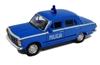 WELLY 1:39 FIAT 125P MILICJA - niebieski