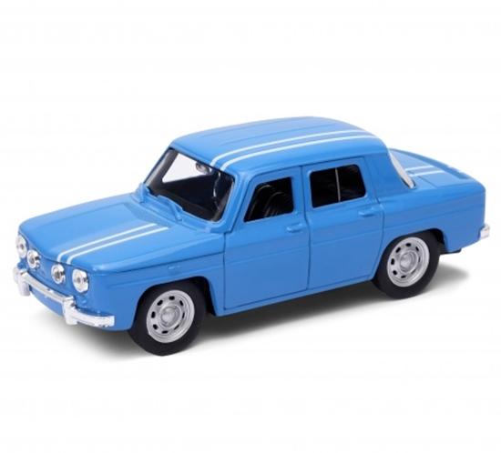 Welly 1:34 Renault R8 1960s - niebieski