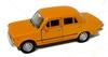 WELLY 1:39 FIAT 125P - żółty