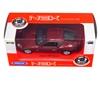 Welly 1:34 Jaguar XK Coupe - czerwony