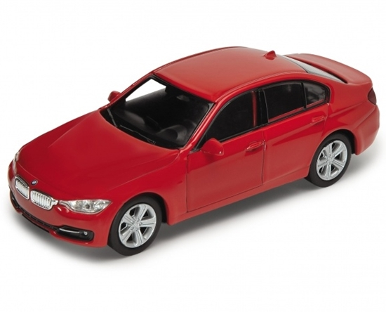Welly 1:34 BMW 335i - czerwony