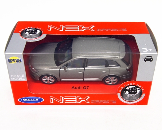 WELLY 1:34 Audi Q7 - grafit
