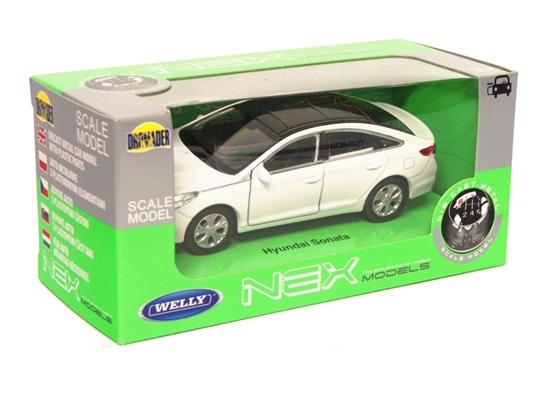 Welly 1:34 Hyundai Sonata - biały