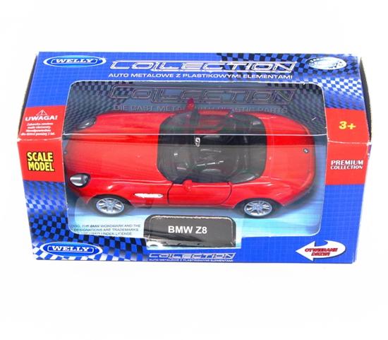 Welly 1:34 BMW Z8 - czerwony