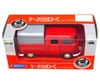 WELLY 1:34 Volkswagen T1 Double Cabin PICK UP czerwony