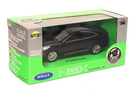 Welly 1:34 Hyundai Azera - czarny