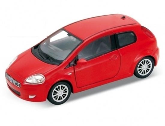 Welly 1:34 Fiat Grande Punto - czerwony