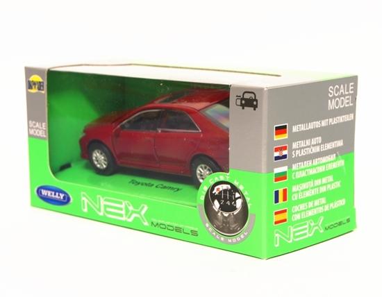 Welly 1:34 Toyota Camry - czerwony