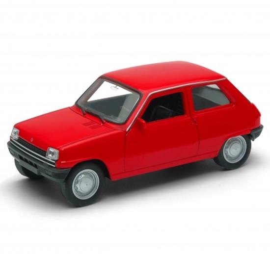 Welly 1:34 Renault 5 - czerwony