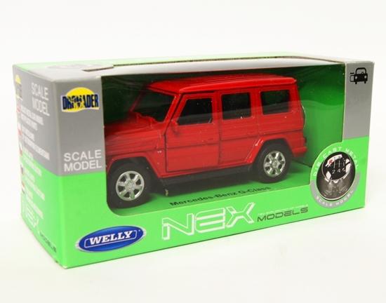 Welly 1:34 Mercedes-Benz G-Class - czerwony