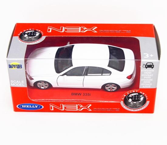 Welly 1:34 BMW 335i - biały