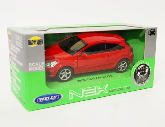 Welly 1:34 Opel 2005 Astra GTC - czerwony