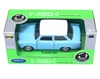 WELLY 1:39 Trabant 601 niebieski, biały dach