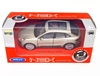 WELLY 1:34 Porsche Macan Turbo - srebrny